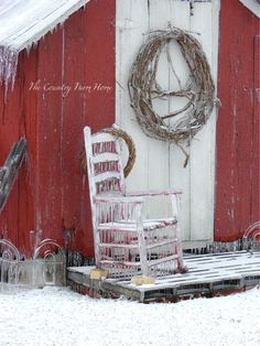 The Country Farm Home: A Christmas Story from the Farmhouse