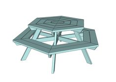 Use these free picnic table plans and create a beautiful table for your backyard, patio, or any other place around your home where you need seating.