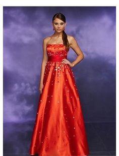 Beautiful orange dress!