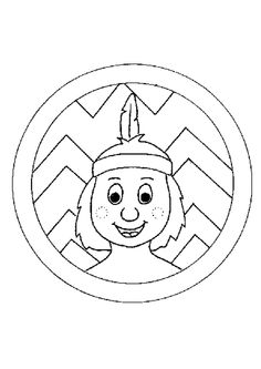 Indians coloring page 7 Coloring Books, Coloring Pages, Indian Colours, Cowboys And Indians, School Themes, Art Drawings Sketches, Le Far West, Diy Paper, Animation