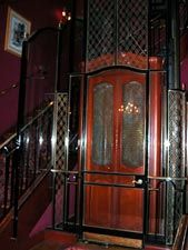 The famous Club 33 Lift