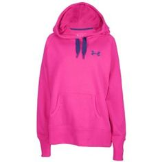 Under Armour Storm Charged Cotton Fleece Hoodie - Women's - Pluto/Tropic Pink