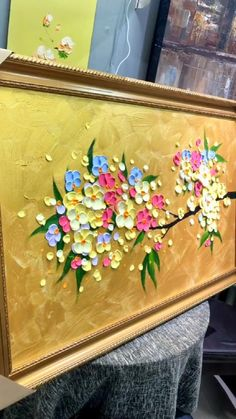 3d Art Painting, Texture Painting On Canvas, Acrylic Painting Flowers, Art Painting Gallery, Knife Painting, Acrylic Art, Canvas Art, Paintings, Diy Art Projects Canvas