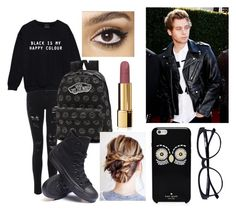 """Date with Luke"" by chloe-ashforth on Polyvore featuring Vans, Converse, Charlotte Tilbury, Chanel and Kate Spade"