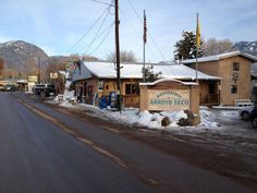 Exterior Photo of Taos Cow in Arroyo Seco, NM