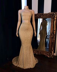 Looking for Realdressphotos,Prom Dresses,Evening Dresses in Sequined, Mermaid style, and Gorgeous Sequined work? Babyonlinewholesale has all covered on this elegant Champagne Two-piece Strapless Long Mermaid Prom Dresses with Choker. Prom Girl Dresses, Sequin Prom Dresses, Prom Outfits, Cheap Prom Dresses, Homecoming Dresses, Evening Dresses, Bridesmaid Dresses, Formal Dresses, Prom Gowns