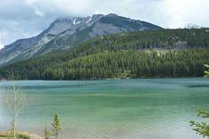 Lac Two Jake. Banff,  Canada Road Trip dans l'Ouest Canadien