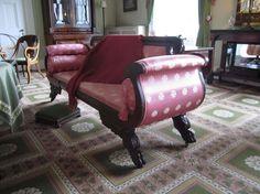 Duncan Phyfe style sofa. Bartow-Pell Mansion