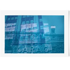 Limited edition screen print of NYC first ever car park on Thompson & Broome.   www.freireprintz.co.uk