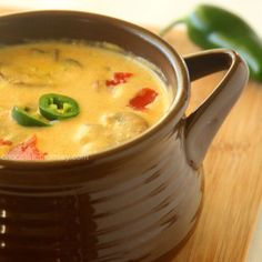 Roasted Jalapeno Soup. Like nine different soup recipes. these look great!