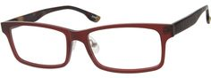 Order online, unisex brown full rim acetate/plastic rectangle eyeglass frames model #622115. Visit Zenni Optical today to browse our collection of glasses and sunglasses.