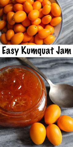 Kumquat Jam - Frühstück, Brunch, Marmelade & Co.Easy homemade kumquat jam ~ The perfect way to enjoy an otherwise tart fruit in a homemade preserve ~ Call it kumquat jam or kumquat marmalade, either way it's delicious. Jelly Recipes, Jam Recipes, Drink Recipes, Kumquat Marmalade Recipes, Kumquat Jelly, Kitchen, Pastries, Fruit, Kitchens