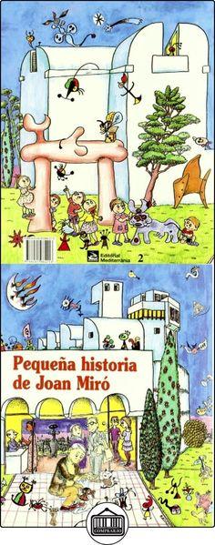 Pequeña historia de Joan Miró (Petites Històries) Fina Duran i Riu ✿ Libros infantiles y juveniles - (De 3 a 6 años) ✿