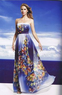 Vestido Florido - HERYSA