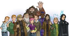 The Order of the Phoenix by *stratosmacca on deviantART