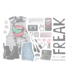 """""""× I've lost my god damn mind ×"""" by wwelover02 ❤ liked on Polyvore featuring AG Adriano Goldschmied, Dr. Martens, CASSETTE, Bling Jewelry, MAC Cosmetics, Nintendo, Franklin and King Baby Studio"""