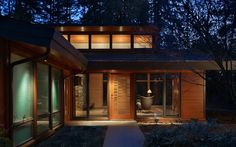 Cool home in the Seattle woods