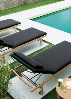 A Striking Danish Modern Outdoor Furniture Collection