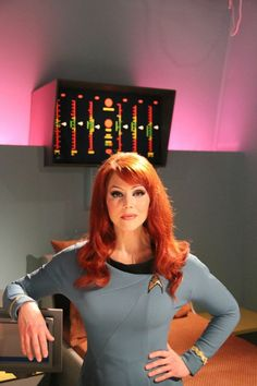 """nope, Michele Specht as Starfleet's first forward-deployed Ship's Counselor, Dr.) Elise McKennah - a continuing character in the fan-produced, TOS-continuation web series """"Star Trek Continues"""". Star Trek Cosplay, Destiny Cosplay, Star Trek Tos, Star Wars, Star Trek Continues, Star Trek Images, Star Trek Characters, Star Trek Ships, Star Trek Universe"""