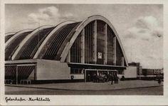Hala Targowa, Gdynia, Poland, built between Concrete Cover, Visit Poland, Bauhaus, Opera House, Art Deco, Polish, Clouds, Building, Travel