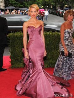Amber Heard Met Gala 2012