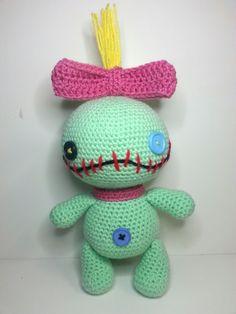 Small Amigurumi Heart Pattern : Its a Scrump Thing! on Pinterest Lilo And Stitch, Lilo ...
