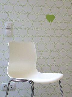 Tapeten-Muster HH-Wackelzähne #tapete #wallpaper
