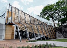 Mexican firms Shine Architecture and TA Arquitectura have converted an unused building at the Monterrey Institute of Technology's León campus into a 24-hour studio for art and design students