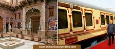 Renamed the Heritage Palace on Wheels (HPOW) the train will in the last . is likely to revive the crumbling heritage of the Shekhawati region. Trains, Palace, Wheels, Fair Grounds, Journey, India, Luxury, Delhi India, The Journey