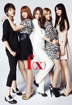 f(x) Amber, Victoria, Krystal, Luna,  Sulli