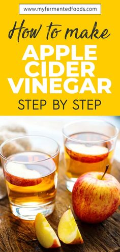Learn how to make apple cider vinegar at home. My recipe contains step by step instructions so you can make ACV quickly and easily. Making Apple Cider, Make Apple Cider Vinegar, Probiotic Foods, Fermented Foods, Apple Sider Vinegar, Eggs Low Carb, Coconut Oil Weight Loss, Kombucha How To Make, Healthy Cereal