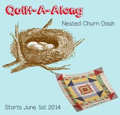 Want it, Need it, Quilt!: Nested Churn Dash Quilt-a-long - Starts June 1st 2...