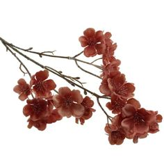 50cm Frosted Blossom Spray