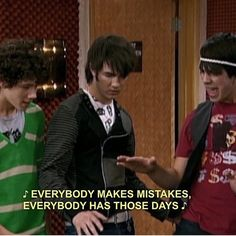okay but this episode with the Jonas brothers though. like this was seriously my entire childhood in one 30 minute tv episode.