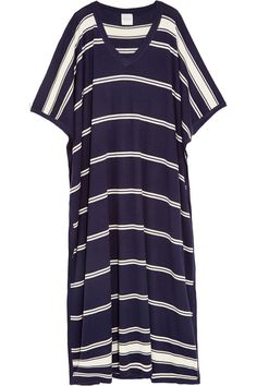Madeleine Thompson | Bosphorous striped cashmere and silk-blend kaftan | NET-A-PORTER.COM