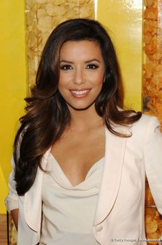Eva Longoria poses in New York on 20 July 2012.