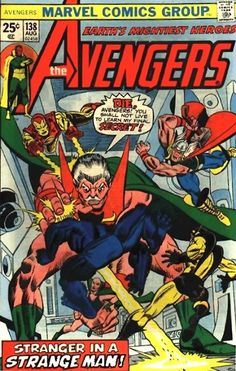Avengers # 138 by Gil Kane & Mike Esposito