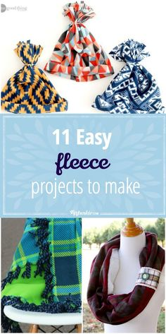 11 Easy Fleece Projects to Make