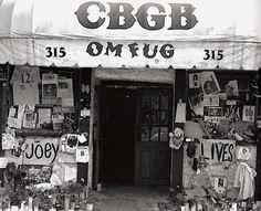 New York City - CBGBs.
