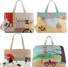 Radley picture bags. I have 3, wish I had more!