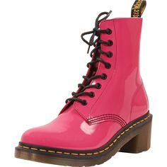 Dr. Marten - Women's Clemency 8 Eye Heeled Boots - Hot Pink