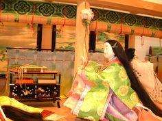 【京都・風俗博物館~よみがえる源氏物語の世界~】 2008年5月撮影 平安朝の年中行事 端午節句 - 晴れのち平安