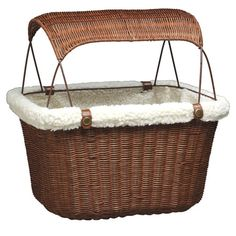 Tagalong Bicycle Pet Basket (how cute is this!!!)