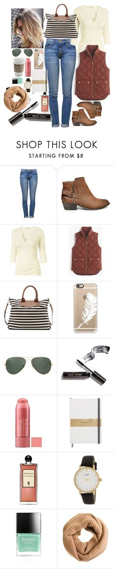 """""""Untitled #1449"""" by inthesun707 ❤ liked on Polyvore featuring Current/Elliott, Steve Madden, Fat Face, J.Crew, Sole Society, Casetify, Ray-Ban, Bobbi Brown Cosmetics, Serge Lutens and Kate Spade"""