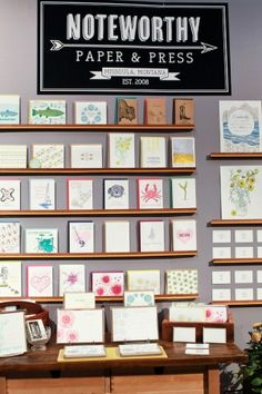 National Stationery Show 2013, Part 4 - Ladies of Letterpress: Noteworthy Paper & Press