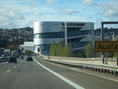 Fahrt Richtung Stuttgart- Daimlermuseum - Nov 2013