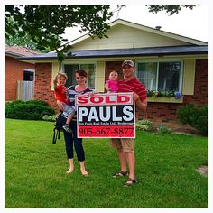 Happy home buyer! Hamilton Ontario home buyer