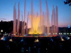 ▶ The magic fountain of Montjuïc's barcelona - YouTube