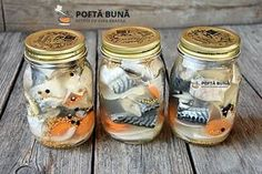 Peste marinat, macrou, scrumbie Romanian Food, Romanian Recipes, Pastry Cake, Preserving Food, Seafood, Diy And Crafts, Mason Jars, Projects To Try, Food And Drink
