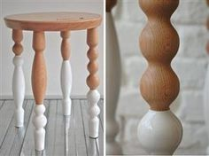 Try This Look: Painted Furniture Legs